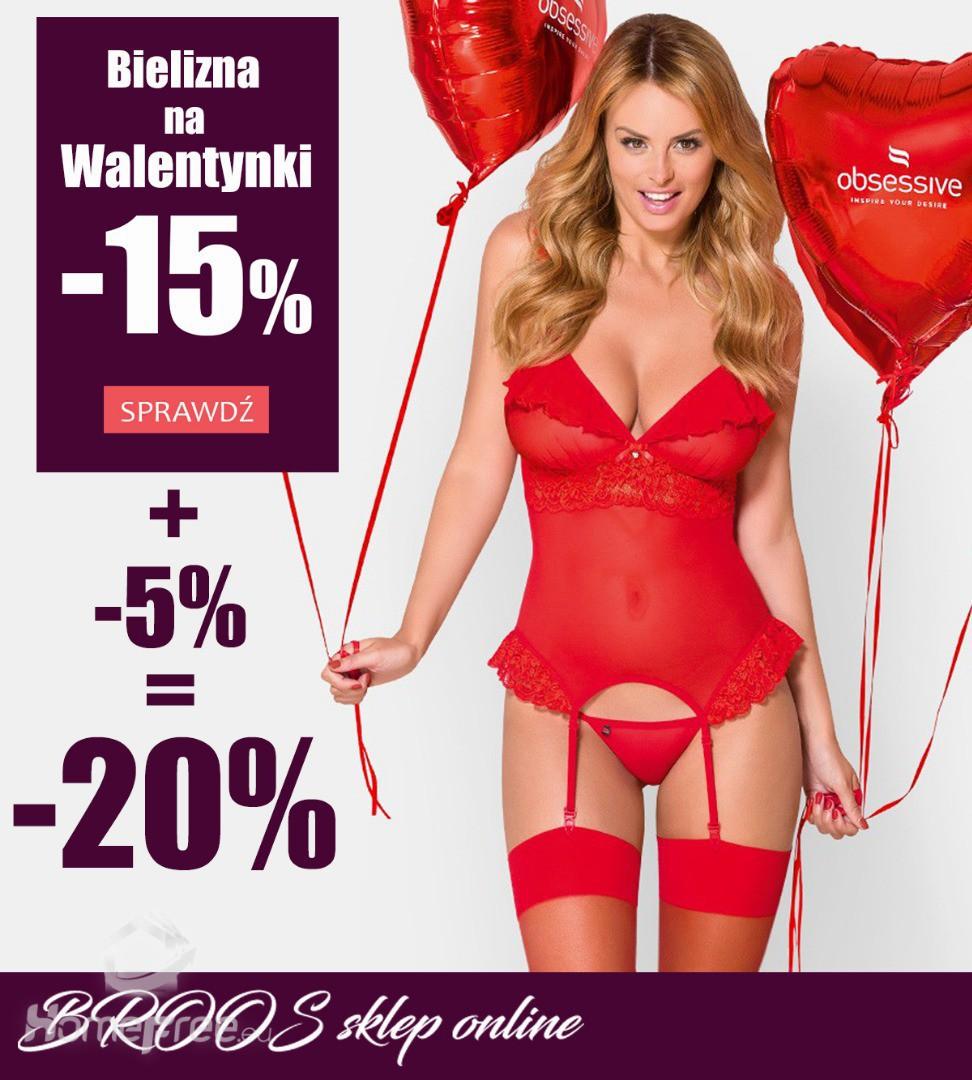 074477491c444b Promocja Walentynkowa -20% / BROOS sklep online Zapraszamy - homefree