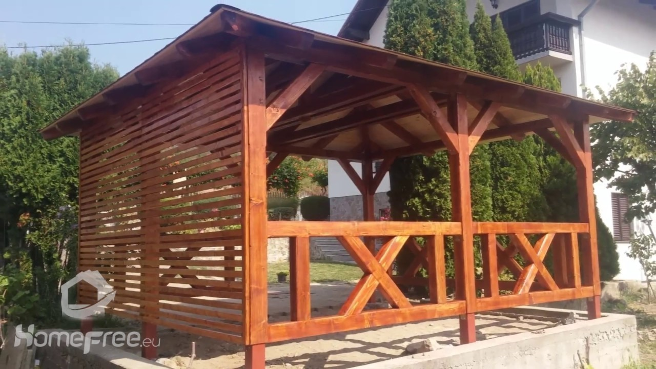 Domki Letniskow Altany Pergole Konstrukcje Ogrodowe